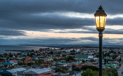 Dusk Falls on Punta Arenas