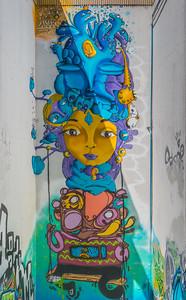 Three-Story Mural - Valparaiso