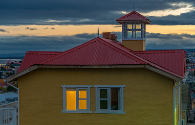 Nightfall - Punta Arenas
