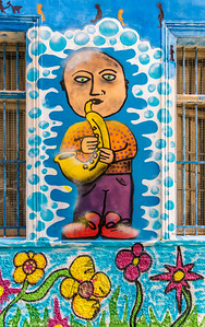 Valparaiso Sax Man