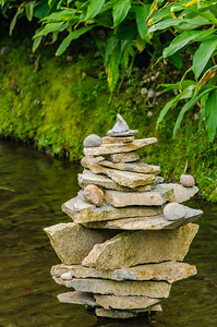 Zen Stream Sculpture