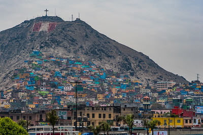 Barrios at the Edge of Lima, Peru