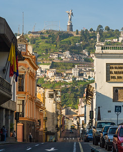 Quito's Guardian Angel