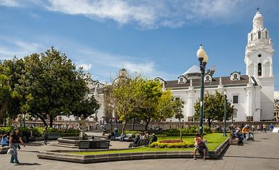 Sunday Morning in the Plaza Grande