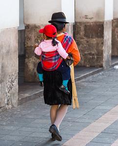 Inca Child Transport