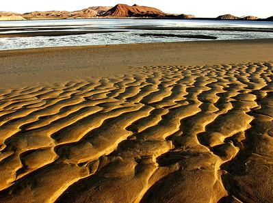 Sand Patterns- Alfonsina's, Mexico