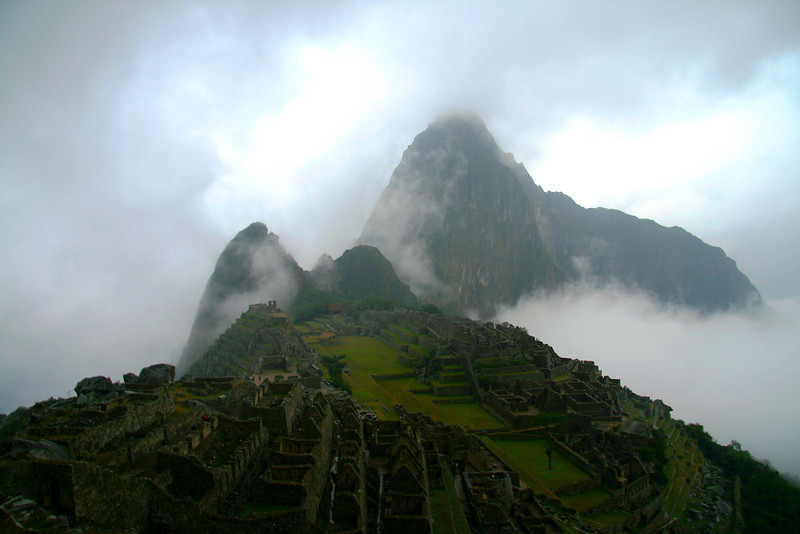 Machu Picchu from the Caretaker's House - Machu Picchu, Peru