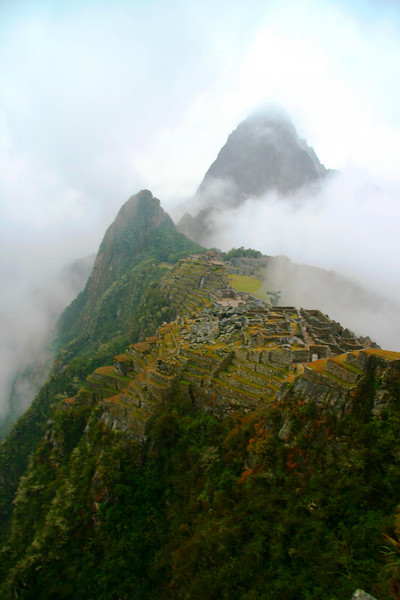 Machu Picchu at Sunrise - Peru