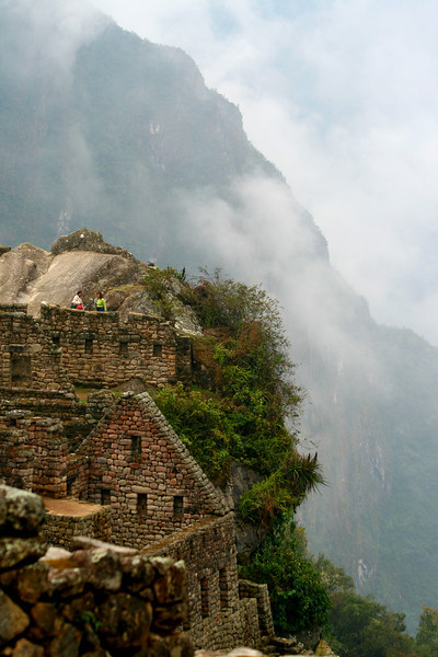 The Edge of Machu Picchu - Machu Picchu, Peru