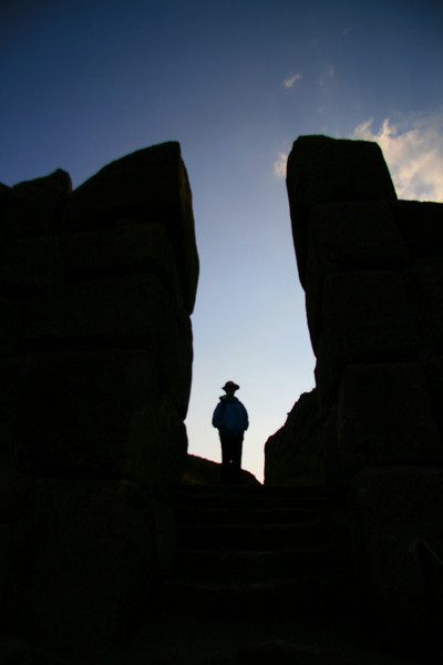 Incan Ruins at Sunset - Peru