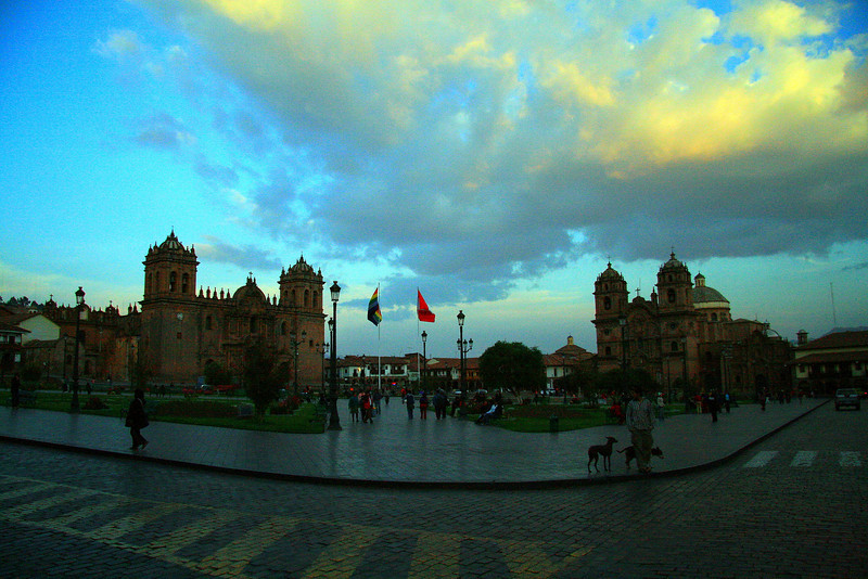 Cusco at Sunset - Peru