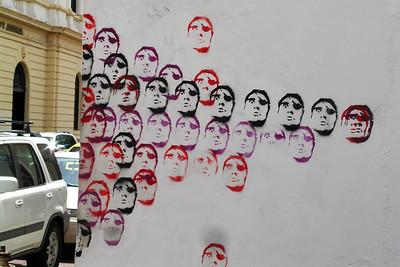 Casco Viejo - Graffiti on Streetcorner