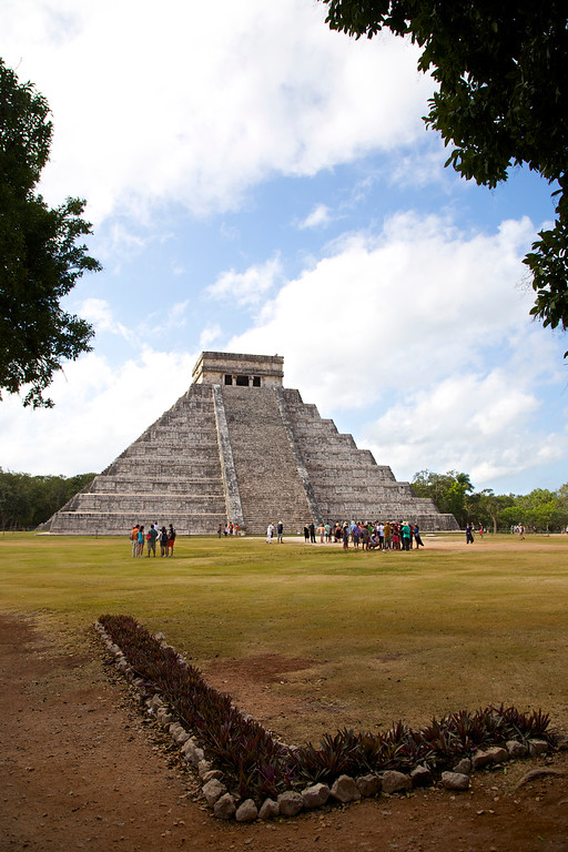 El Castillo, or the Temple of Kukulcan