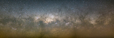 Setting Milky Way Pano #2