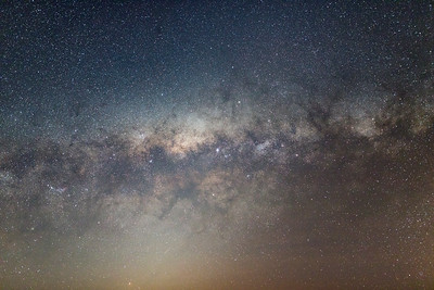 Setting Milky Way Pano #1