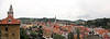 Panoramic views of Cesky Krumlov.