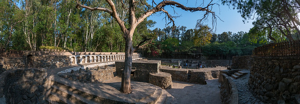 Panoramic view of The Rock Garden. The Rock Garden of Chandigarh (also known as Nek Chand's Rock Garden after its founder) is a sculpture garden in Chandigarh, India. Nek Chand was a government official who started the garden secretly in his spare time in 1957. Today it is spread over an area of 40 acres and is completely built of industrial and home waste and thrown-away items. The Rock Garden, is one of the most famous sites in India. Nek Chand, the creator of this place, died in 2015 but his site is visited by millions of people every year.