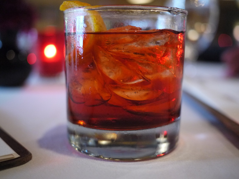 Negroni at Fig