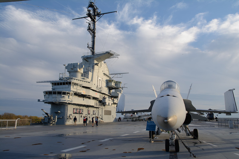 The Yorktown is the tenth aircraft carrier to serve in the Navy.