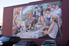 "This mural is an homage to Lale's favorite painting, ""Luncheon of the Boating Party""."