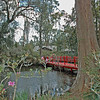 Gardens and Footbridge at Magnolia Plantation