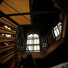 Wentworth Mansion stairs to cupola.