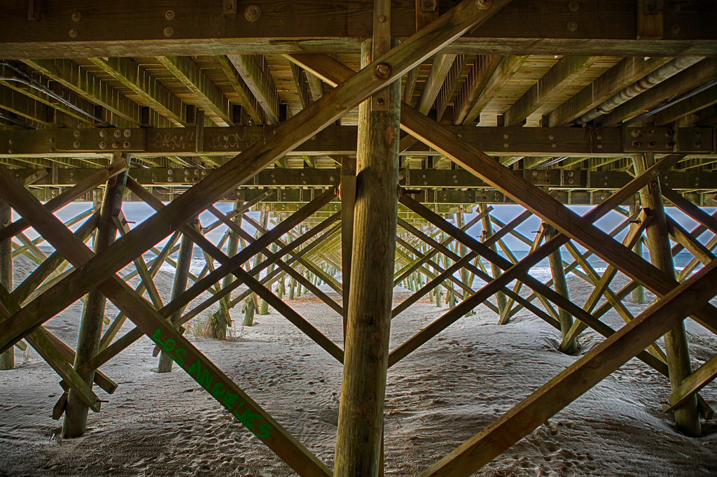 Folly Pier Structure