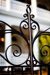 Charleston has to be the wrought iron capitol of the world...yes I know about New Orleans but N.O. seems to have more cast iron...I also love how the 85L isolates the iron from the background.