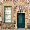Aging historic building with Southern charm