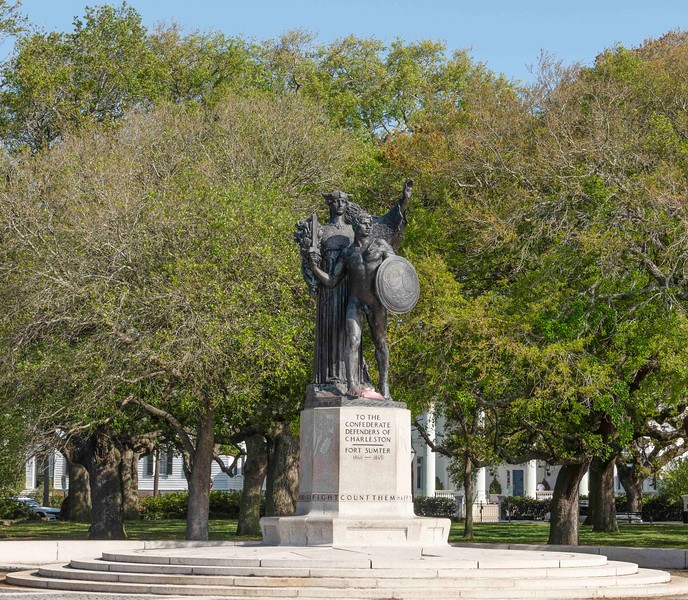 White Point Park and commemorative stature