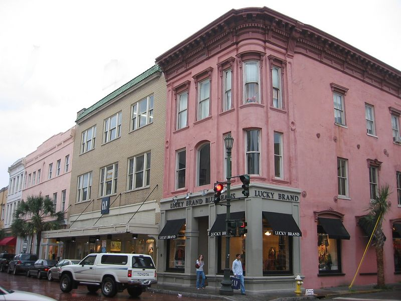 00aFavorite King St shopping area, Charleston