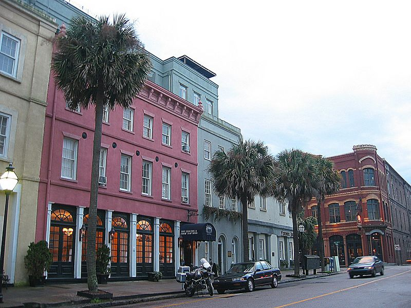 East Bay Street scene
