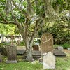 Old spooky cemetery