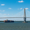 Ravenel Bridge over Cooper River