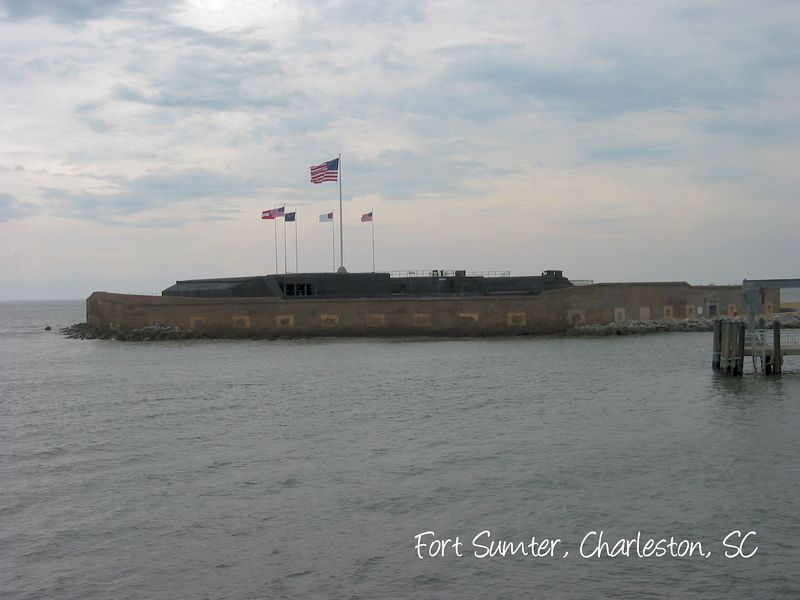 Fort Sumter - approaching [text]
