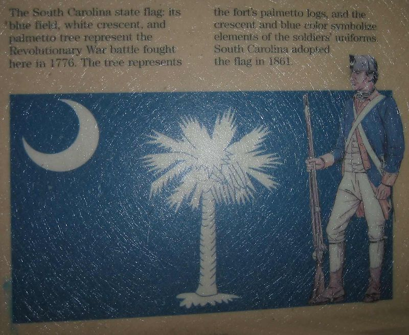 Sign about SC state flag