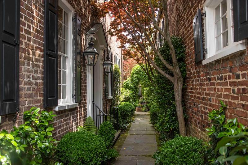 Charming walkway
