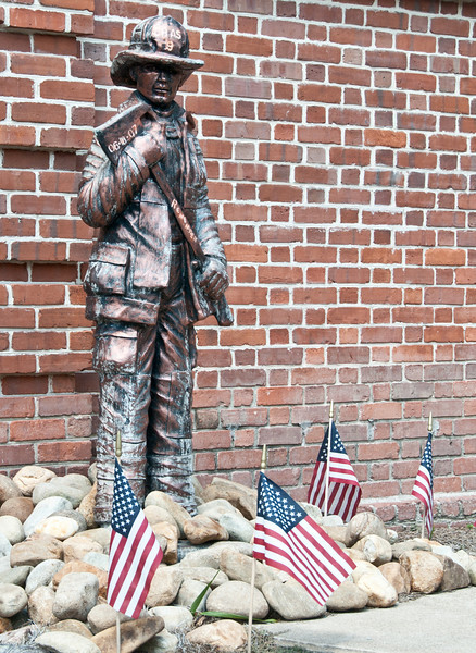 Monument to the Charleston Fallen Firefighters