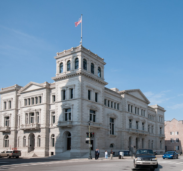 The U.S. Post Office and Courthouse in Charleston