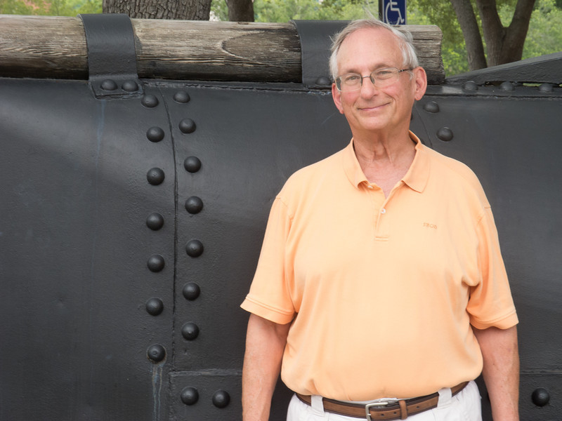 Actually, some other photographer took my photo in front of the Civil War Submarine