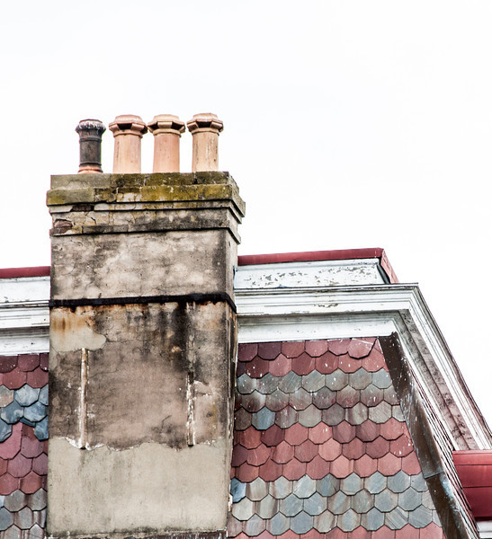 A real old chimney