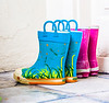 I couldn't resist photographing these boots because they were so colorful
