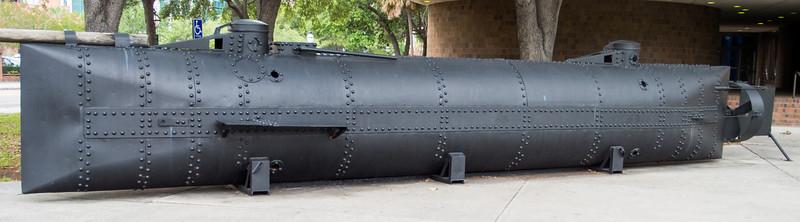 The Civil War Submarine H.l. Huntley