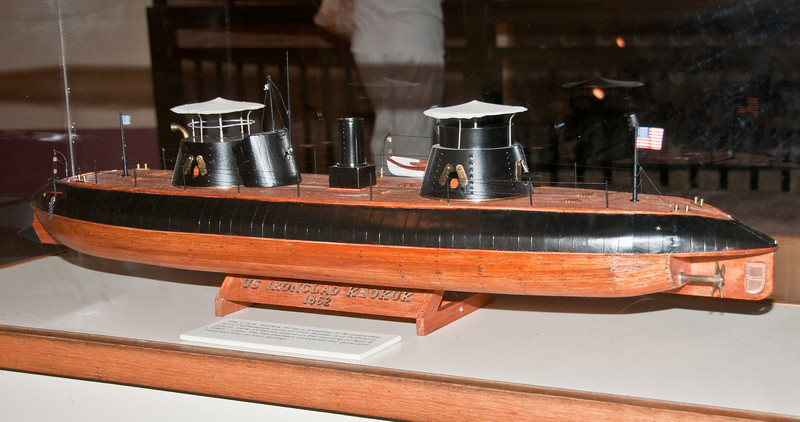 US Ironclad Keokuk built in1862