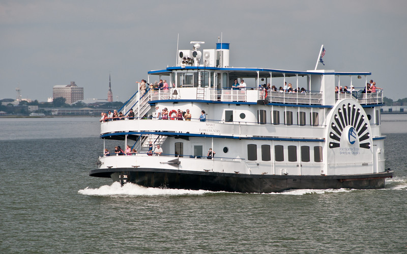 Another Ferryboat on the way to Fort Sumter
