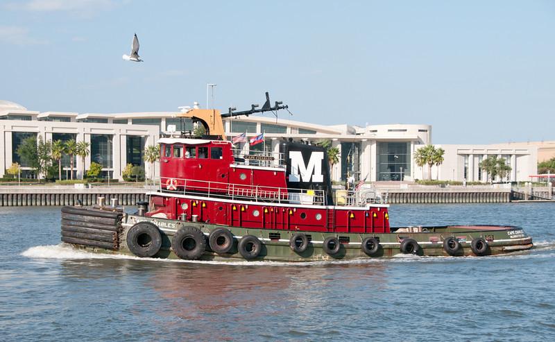 Tugboat named Cape Charles