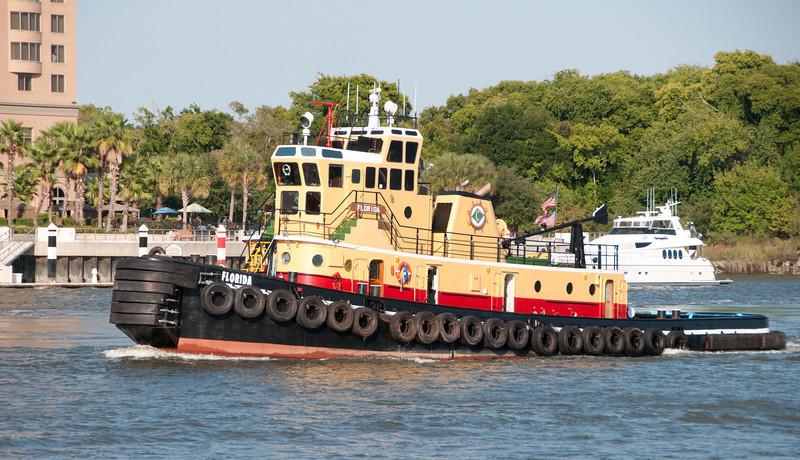 Tugboat named Florida