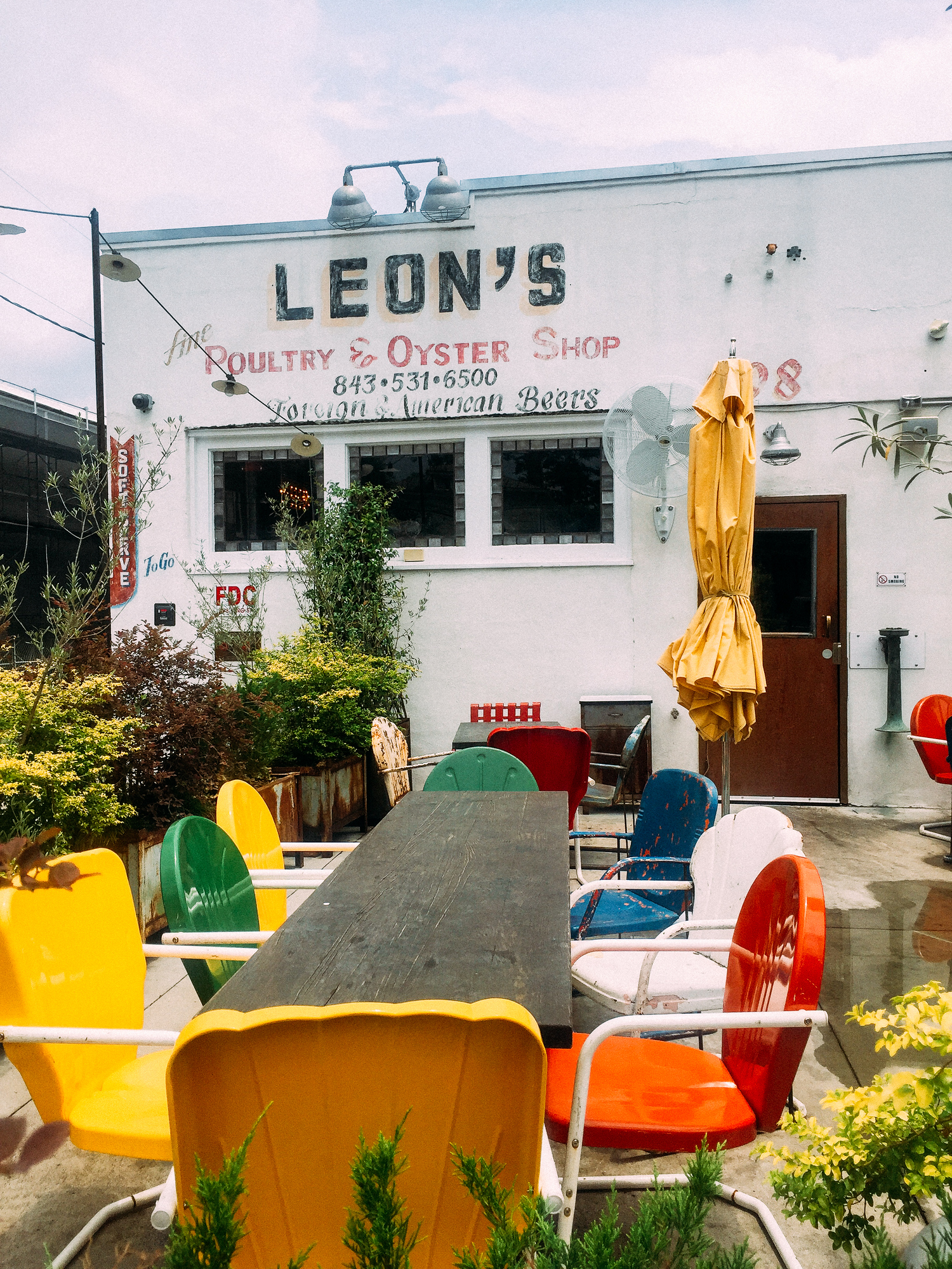 Leon's Fine Poultry and Oysters is just one of the many downtown Charleston restaurants you shouldn't miss. Check out our guide for where to eat in Charleston.