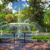 Forsyth Park Fountain - View 2 - Savannah