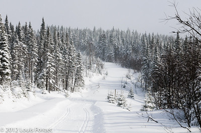 Sur le Sentier des Caps de Charlevoix
